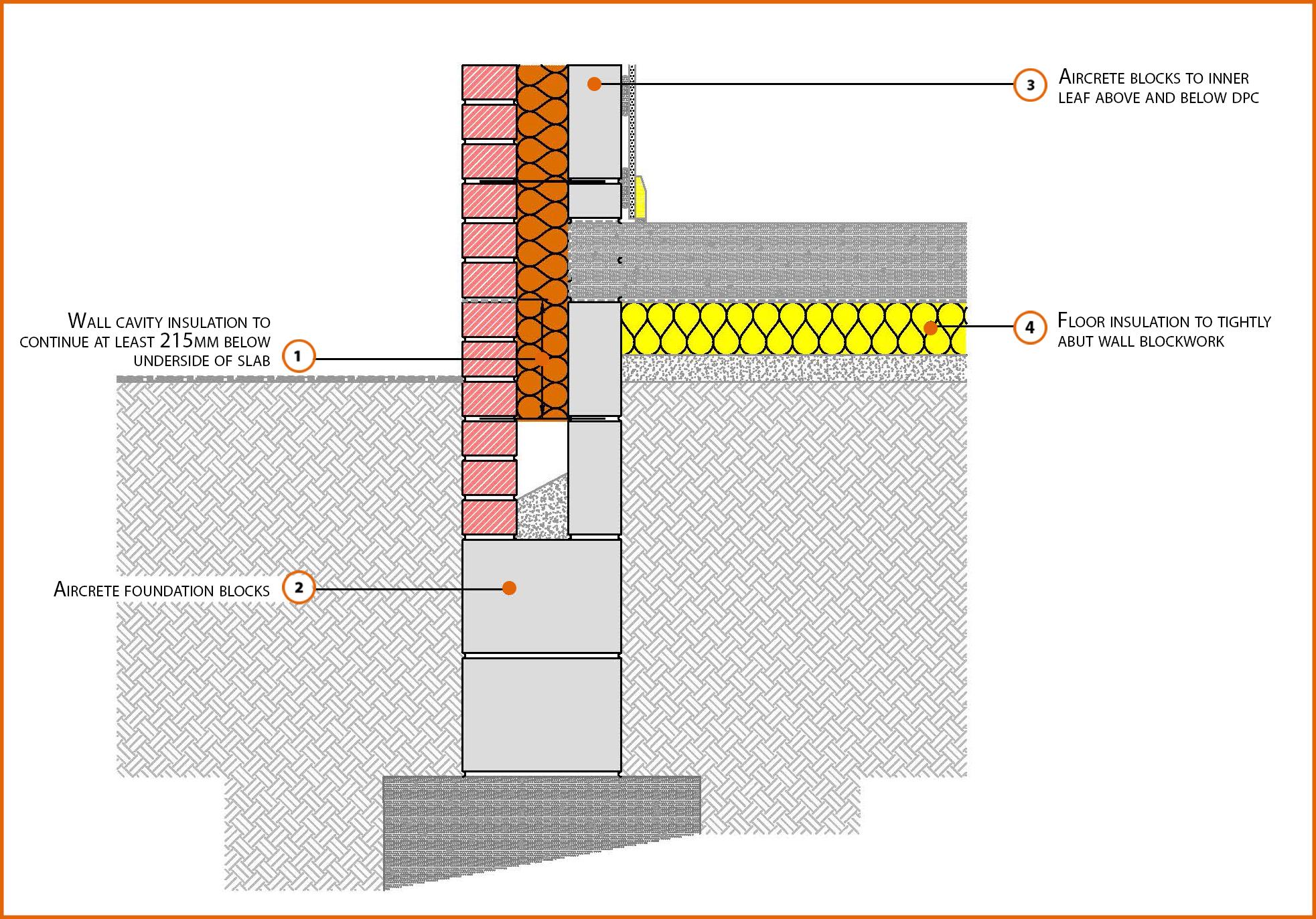 E5mcff30 Suspended In Situ Concrete Floor Insulation