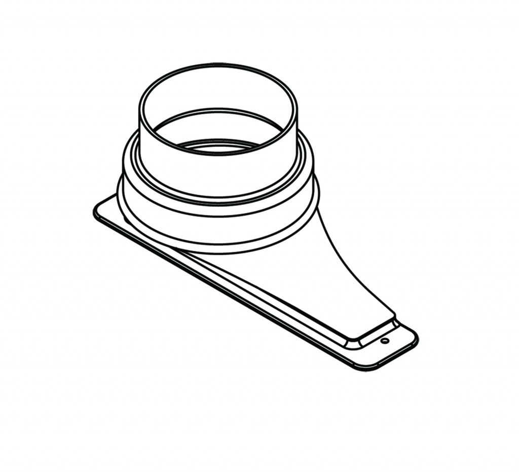 Upper Exhaust Transition Adapter 5 Diameter