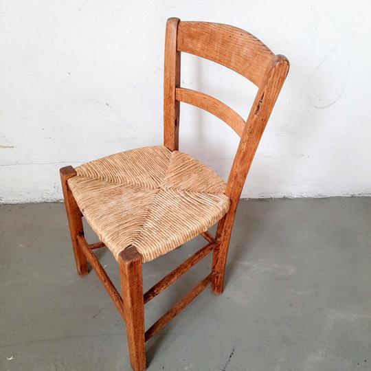 petite chaise ancienne pour enfant