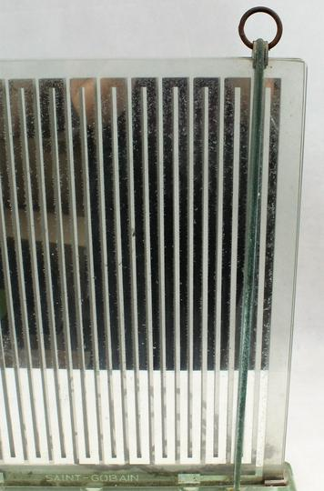 radiateur lampe en verre maison saint gobain france vers 1930 1940