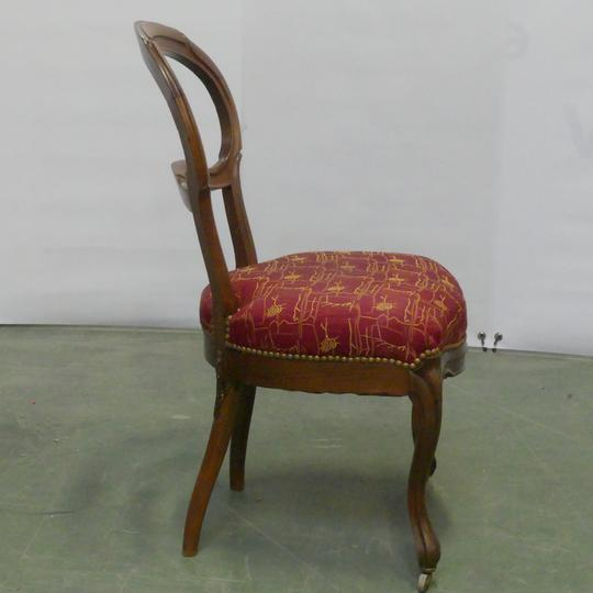 chaise violonnee louis philippe