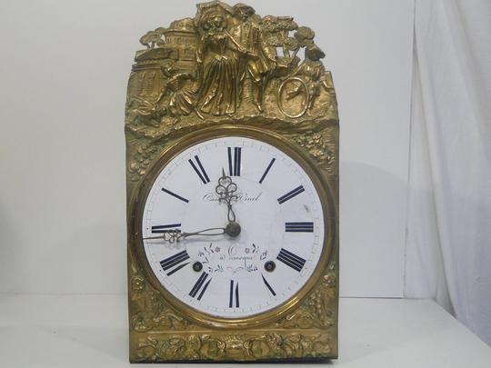 Decoration Horloge Comtoise Gamboahinestrosa