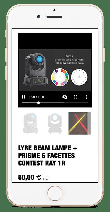 Création du site internet de Nantes Sono - Agence web - Label Site Nantes