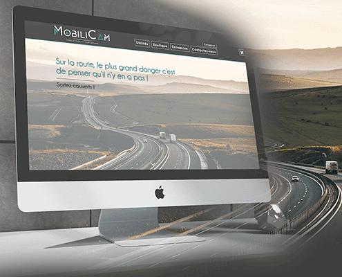 Création du site internet de Mobilicam - Agence web - Label Site Nantes