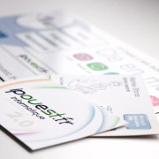 Cartes de visite pour IPOuest.fr - Label Communication