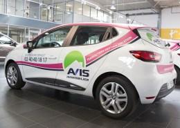 Logotage flotte Avis Immobilier en Loire-Atlantique (44) - Label Communication