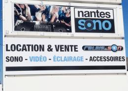 Création d'un totem pour Nantes Sono