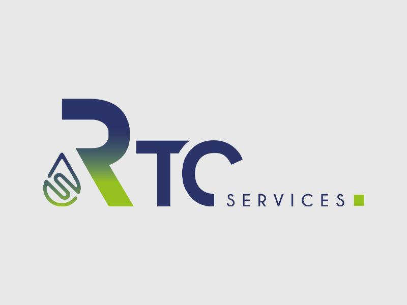 Communication globale - Création de logo par Label communication pour RTC services