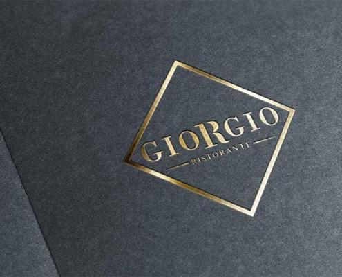 Création de logo pour le Restaurant GIORGIO à Nantes (44)