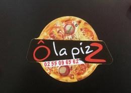 Création de googies magnet pour la pizzera Ô la pizZ,à Bouaye