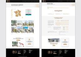 Refonte du site vitrine de C3 Invest' - Cabinet de conseil en immobilier à Vertou - Label Communication