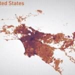 Stadtwachstum grafisch visualisiert