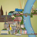 Mein nächstes Großprojekt: Köln-Illustration