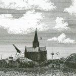 Großprojekte und ihr Zerfall als Kupferstich