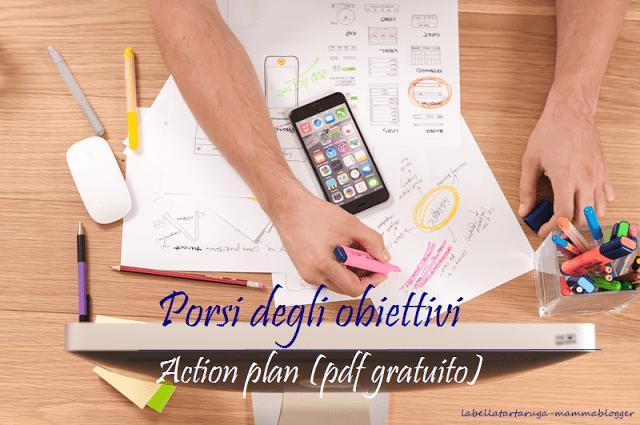 action plan obiettivi