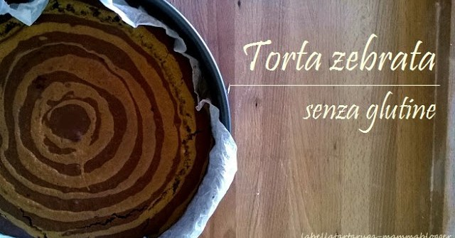 torta zebrata senza glutine