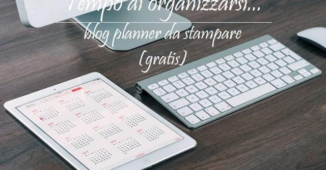 blog planner