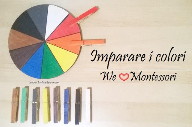 ruota colori Montessori