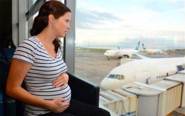 volare e viaggiare in gravidanza