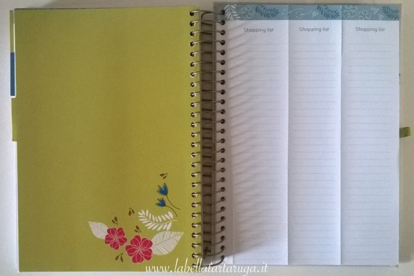 Family Life Book lista della spesa
