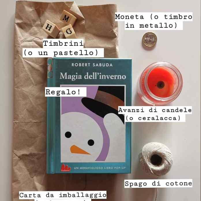 come realizzare un pacco regalo dal laboratorio di babbo Natale