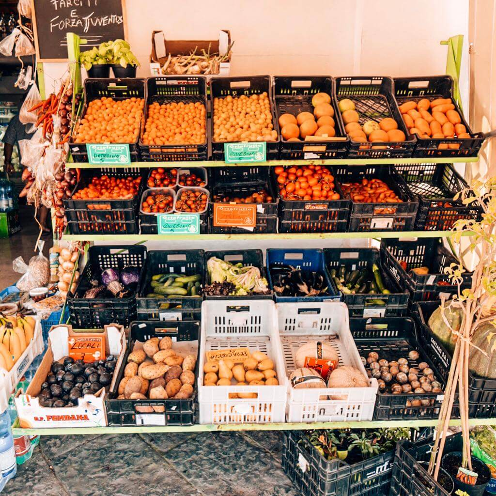 Is it only me, or can we actually go crazy when going shopping in local Italian markets? I wanted to buy everything that I saw in front of me!