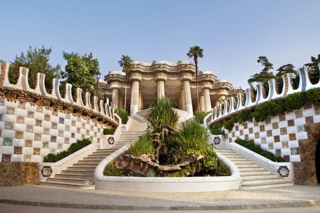 The iconic Park Guell is among the top most important things to see when you travel to Barcelona Spain and another reason I love this city so much  #barcelona #travel