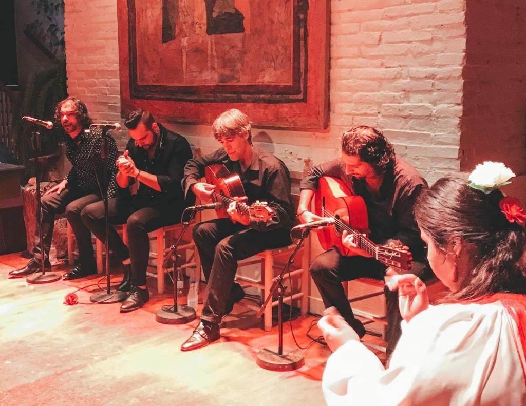 tablao de carmen musicians Barcelona Spain