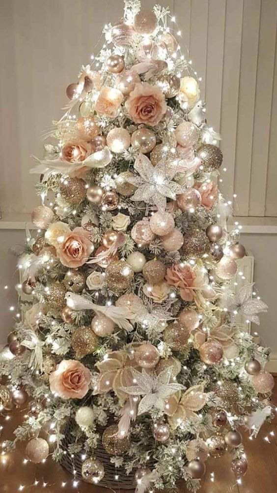 Chic Magical Doves Christmas Tree | Want ideas for unique Christmas trees for the 2020 holiday season? Find inspiration ideas for your Christmas tree decoration from creative and unique xmas trees. From white, upside down, best Christmas trees on wall, pink Christmas trees, and even Disney Christmas tree decorations. From big and small unique Christmas tree ideas. Perfect for kids and for the holidays. #uniquechristmastree #christmastreeideas #christmastreeideas #christmas