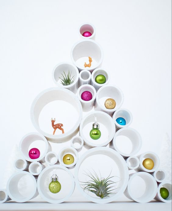 An Unusual Designer Christmas Tree | Want ideas for unique Christmas trees for the 2020 holiday season? Find inspiration ideas for your Christmas tree decoration from creative and unique xmas trees. From white, upside down, best Christmas trees on wall, pink Christmas trees, and even Disney Christmas tree decorations. From big and small unique Christmas tree ideas. Perfect for kids and for the holidays. #uniquechristmastree #christmastreeideas #christmastreeideas #christmas