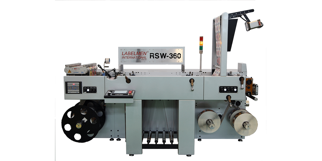 INSPECTION SLITTER FULL ROTARY LETTERPRESS PRINTING MACHINE FOR IN MOLD LABEL INDUSTRY-RSW-360