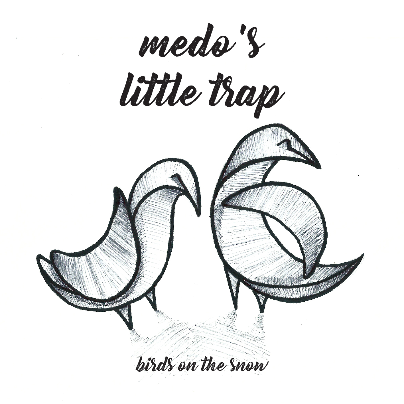 Medo's Little Trap – Birds on the snow