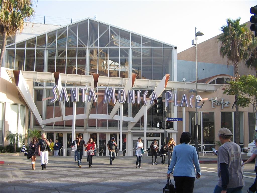 نتيجة بحث الصور عن Santa Monica Place mall los angeles
