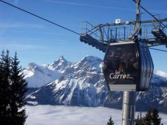 Wintersport les Carroz Frankrijk