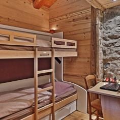 chamois room bunk bed - Bergerie B&B