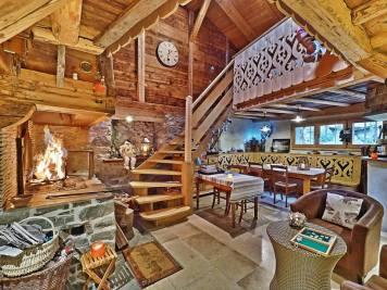 La Bergerie B&B gezellige open haard in het sneeuwzekere grand massif skigebied