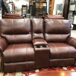 Carlton Power Reclining Loveseat With Center Console 220 54 Laber S Furniture