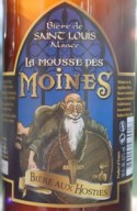 Brasserie de Saint-Louis - Mousse des Moines