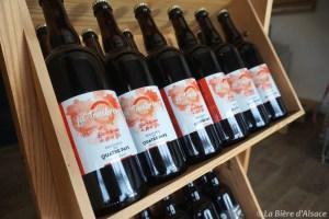Brasserie des Quatre Pays - bouteilles d'automne