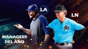 Don Mattingly y Kevin Cash