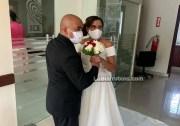 Socorro Alberto y su actual esposo