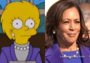 Kamala Harris como Lisa Simpson