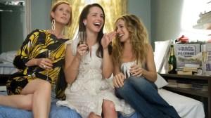 Cynthia Nixon, Kristin Davis y Sarah Jessica Parker en 'Sexo en Nueva York'.