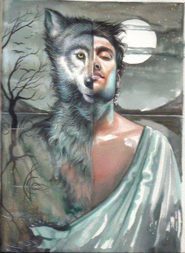 uomo lupo  e licantropia