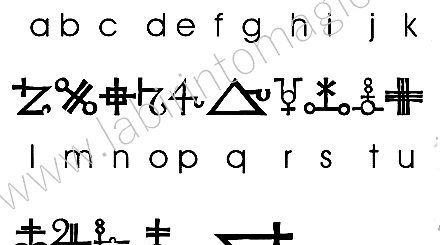 alfabeto magico