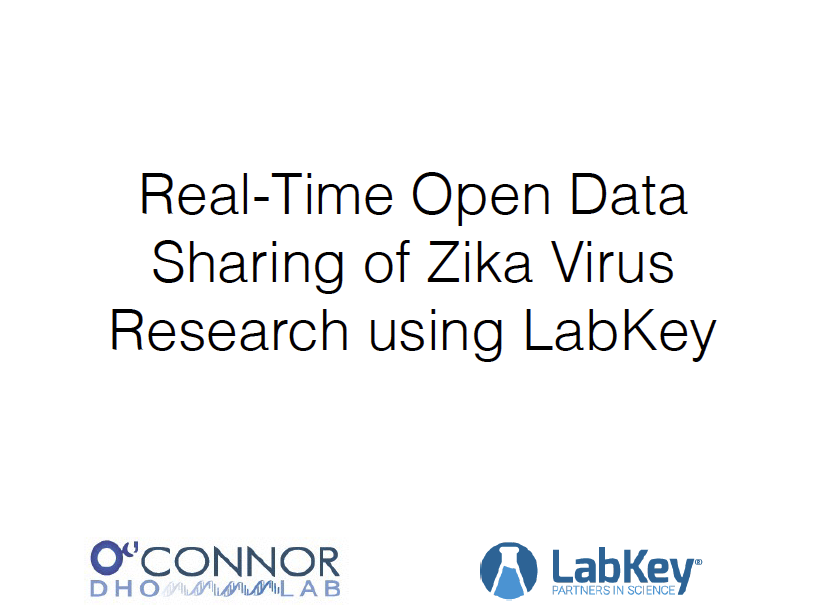 LabKey User Conference 2016, Michael Graham, O'Connor Lab
