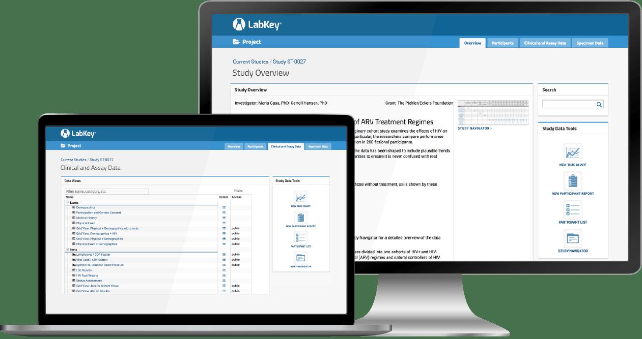 LabKey Server software for Study Data Management and Integration
