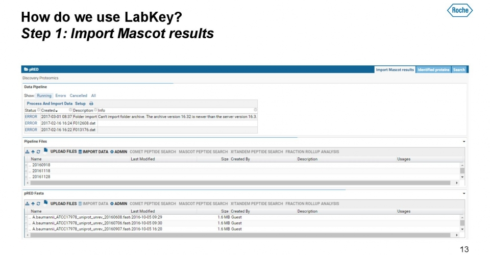 Slides-Labkey-Roche-Petrovic-LKEUC-04172018 13
