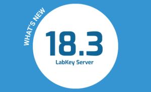 What's New in LabKey Server v18.3