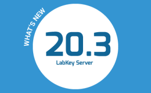 What's New in LabKey Server 20.3